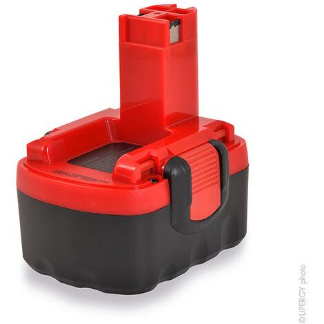 NX - NX - Batterie visseuse, perceuse, perforateur, ... 14.4V 3Ah - 2607335655 ; 0601912420