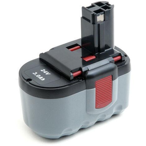 NX - NX - Batterie visseuse, perceuse, perforateur, ... 24V 3Ah - 2607335561 ; 2607335510 ;