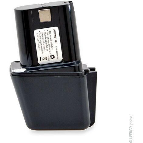 NX - NX - Batterie visseuse, perceuse, perforateur, ... 7.2V 2Ah - 2607300001 ; 2607335178