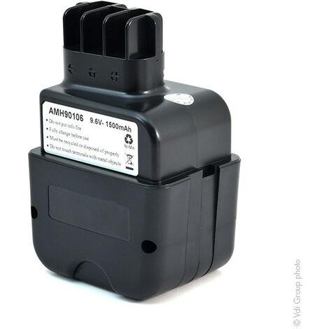 NX - NX - Batterie visseuse, perceuse, perforateur, ... 9.6V 1.5Ah - 31178 ; 52762735000 ;