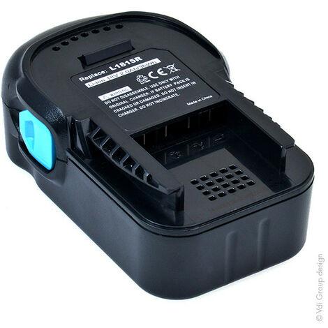 NX - NX - Batterie visseuse, perceuse, perforateur, ... compatible AEG 18V 2Ah - 1815 ; 183