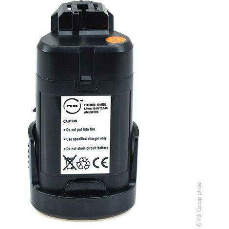 NX - NX - Batterie visseuse, perceuse, perforateur, ... compatible Bosch cellules Samsung 1