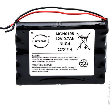 NX - PACK NICD 12V 700MAH GEZE