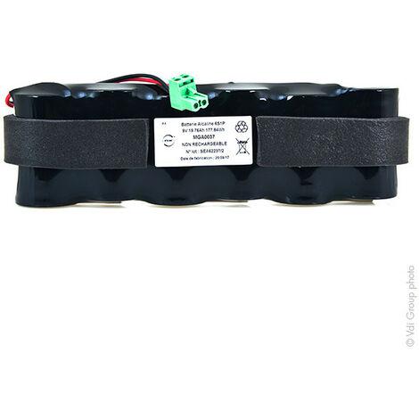 NX - Pile alarme 6x LR20 (ST1/SG) 9V 19.76Ah FC