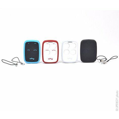 NX - Télécommande WHY-2 (lot de 4 télécommandes 4 couleurs) 0Mhz 4Touch - COMPATIBLE|TELECOPIEUSE_WHY2_LOT_4COLORS|WHY-2|WHY-2_LOT-4-COULEURS