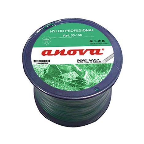 Nylon redondo Anova bobina 3,30 x 139 Mt