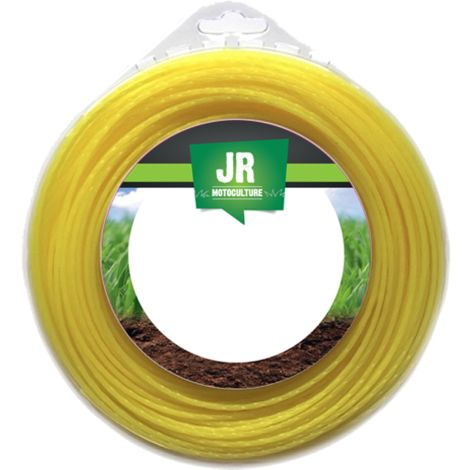 Nylon Round Trimmer-Line- Replacement Strimmer Line - 3.3mm x 45m - JR FNY012