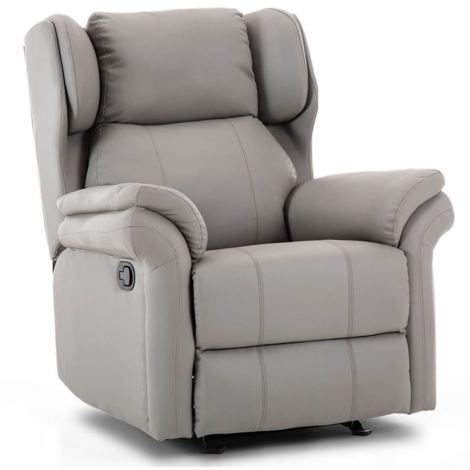 """main image of """"OAKFORD LEATHER ROCKING RECLINER CHAIR - different colors available"""""""