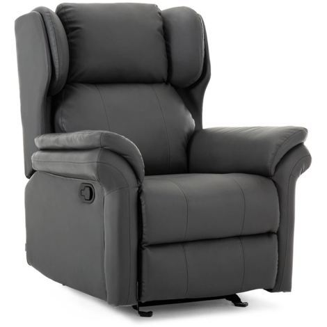 OAKFORD LEATHER ROCKING RECLINER CHAIR - different colors available