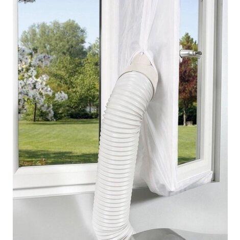 Oak's First kit de Calfeutrage fenêtres pour climatiseur portatif de 4 mètres