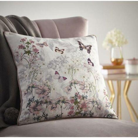 Oasis Botanical Bouquet Filled Square Cushion - 43x43cm
