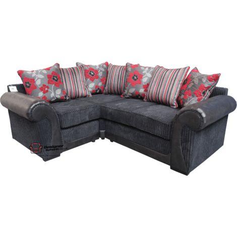 Oasis Designer Fabric Corner Suite 2 Seater + Corner + 1 Seater