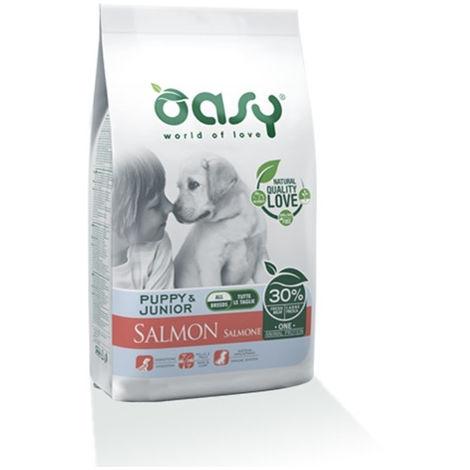 Oasy Monoproteico per Cane Puppy e Junior All Size con Salmone