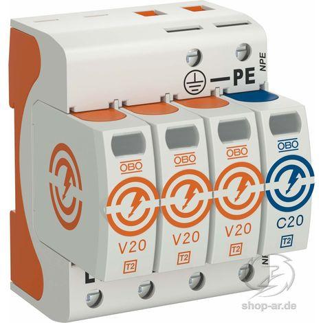 OBO BETT. SurgeController V20 dreipolig mit NP V20-3+NPE-280