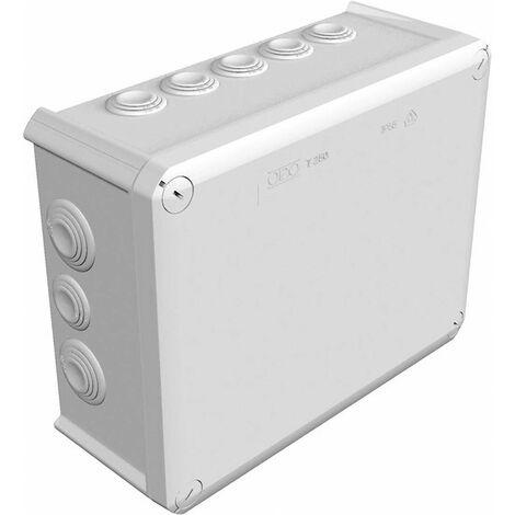 OBO Bettermann 2007109 Cassetta di derivazione (L x L x A) 240 x 190 x 95 mm Grigio (RAL 7035) IP66