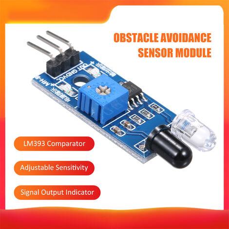 """main image of """"Obstaculo de infrarrojos del sensor de proximidad de infrarrojos IR Modulo Sensor Evitacion Compatible con Arduino"""""""