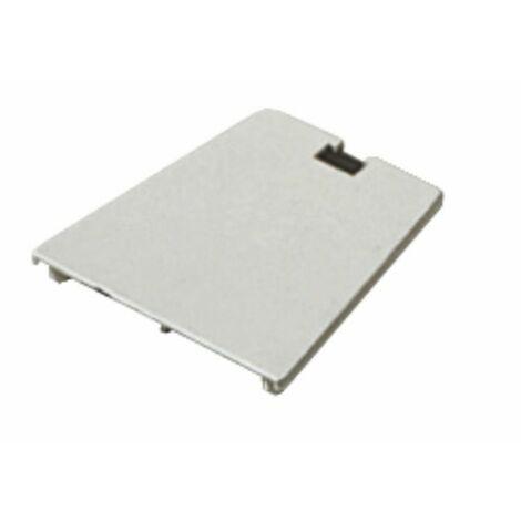 Obturador de soporte 80x80 blanco crema