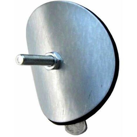 Obturateur de colonne, tampon hermétique acier galvanisé, diamètre 100 mm