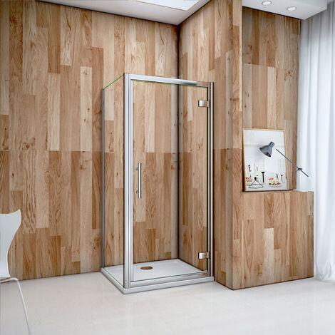 OCEAN Cabine de douche porte de douche pivotante en 6mm verre securit modèle de LIPERS