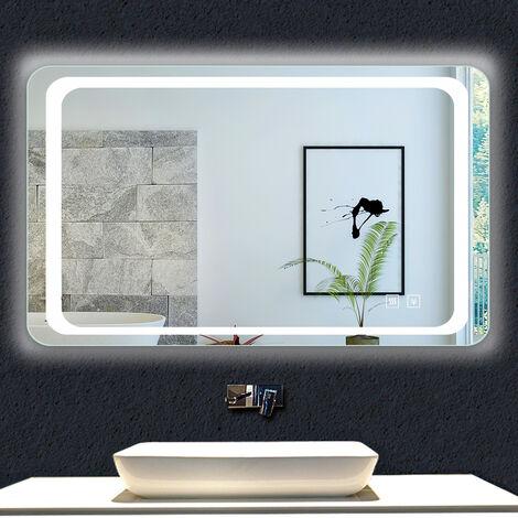 """main image of """"OCEAN Miroir de salle de bain anti-buée modèle Classique plus"""""""
