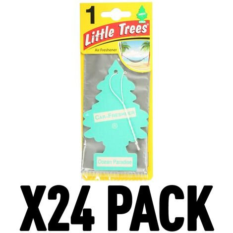 "main image of ""Ocean Paradise (Pack Of 24) Little Trees Air Freshener"""