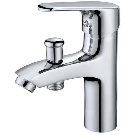 OCEANIC Mitigeur salle de bain - Pour vasque, lavabo, baignoire et douche - Fonction inverseur