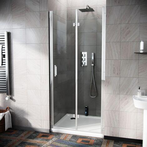 Octax Frameless 800 Bi-Fold Shower Enclosure Door