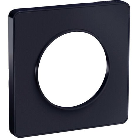 Odace Touch- plaque de finition 1 poste - Anthracite (S540802)