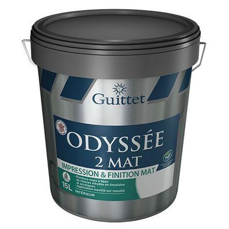 ODYSSEE 2 MAT BLANC 15L - Impression et finition MAT - GUITTET