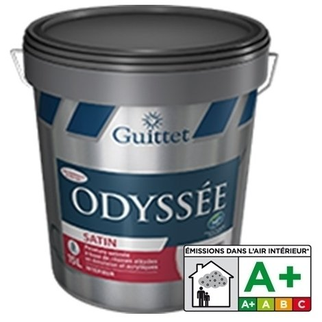 ODYSSEE SATIN - GUITTET - Peinture satinée finition A