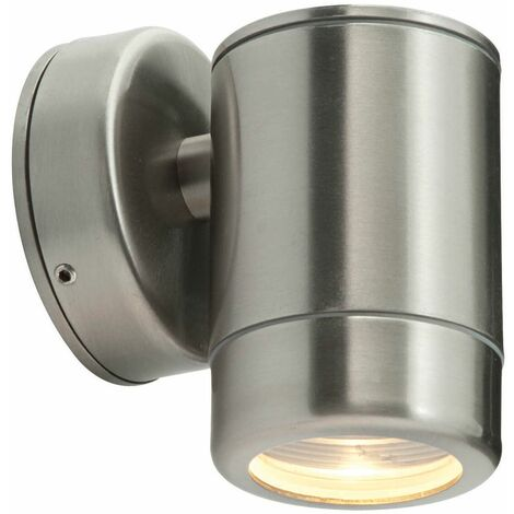 Odyssey outdoor wall light Stainless steel