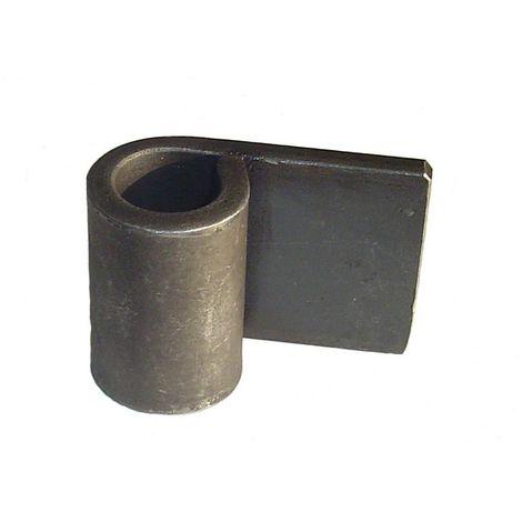 Oeil de penture noir Ø18 mm LES DOLMENS - J020087