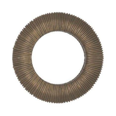 Oeillet clipsable ethnique Plastique ø 44 mm Coloris - Bronze