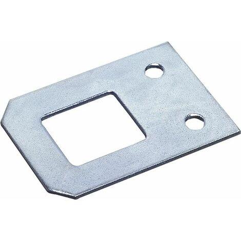 Oeillet de miroir avec vis zingue L 30 mm Emballage 2 pieces