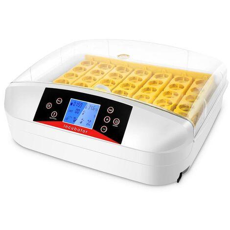 Oeufs incubateur numérique automatique 32 oeufs pour poulet canards oie oiseau - Blanc