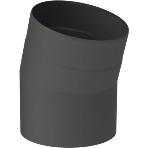 Ofenrohr mit Drosselklappe 110 x 1000 mm FAL Rauchrohr Kaminrohr Kamin Rohr