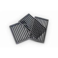 Ofenrost Gusseisen schwarz Kaminrost Ascherost 10 Größen Kamin Ofen Kaminofen Feuerrost RP2-18x22