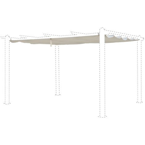 """main image of """"Replacement Canopy for 3x4m Condate"""""""