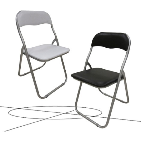 Sedie Pieghevoli In Offerta.Offerta N 6 Sedie Pieghevoli In Metallo Modello Polo Colore Bianco