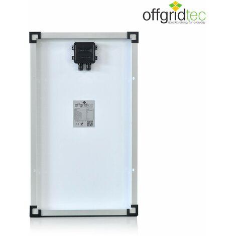 Offgridtec Module solaire 30W 12V, panneau solaire, panneau solaire, Module photovoltaïque, mono 3?01?001530