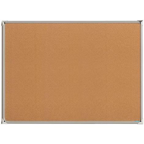 OFFICE AKKTIV Tableau premium - liège naturel - l x h 1200 x 900 mm - Coloris du tableau: nature