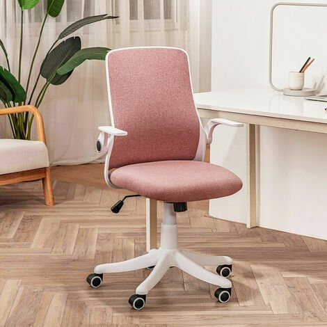 """main image of """"Office Chair Ergonomic Desk Chair Mesh Back Swivel Seat Lumbar Support with Flip up Armrests"""""""