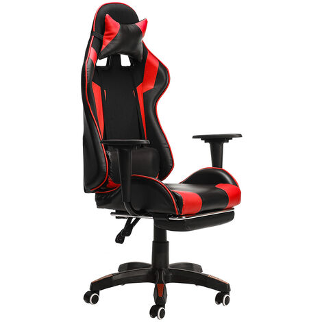 """main image of """"Office Chair Gaming Chair Ergonomic Desk Chair Swivel Seat w/ Footrest"""""""