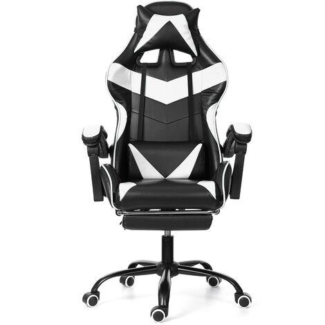 Office Chair Gaming Gaming Swivel Racing 150 °