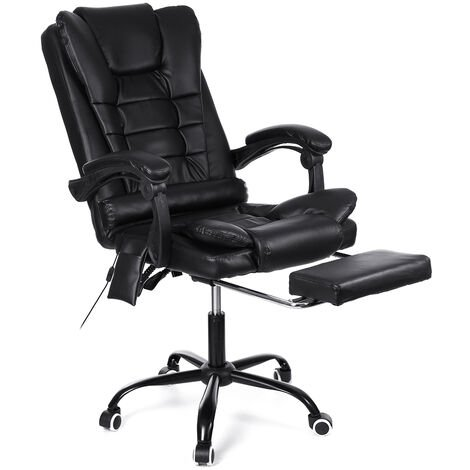 Office Chair Massage Gaming Gamer Racing Chair Reclining 135 ¡ã