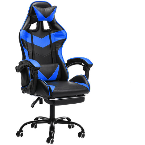 Office Chair Red Gaming Gaming Swivel Racing-Reclining Mohoo