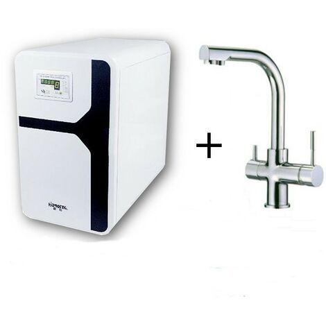 Offre osmose inverse pompe LUX 75 GPD plus robinet 3 vois