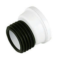 Offset Pan Connector - 14 Degree White