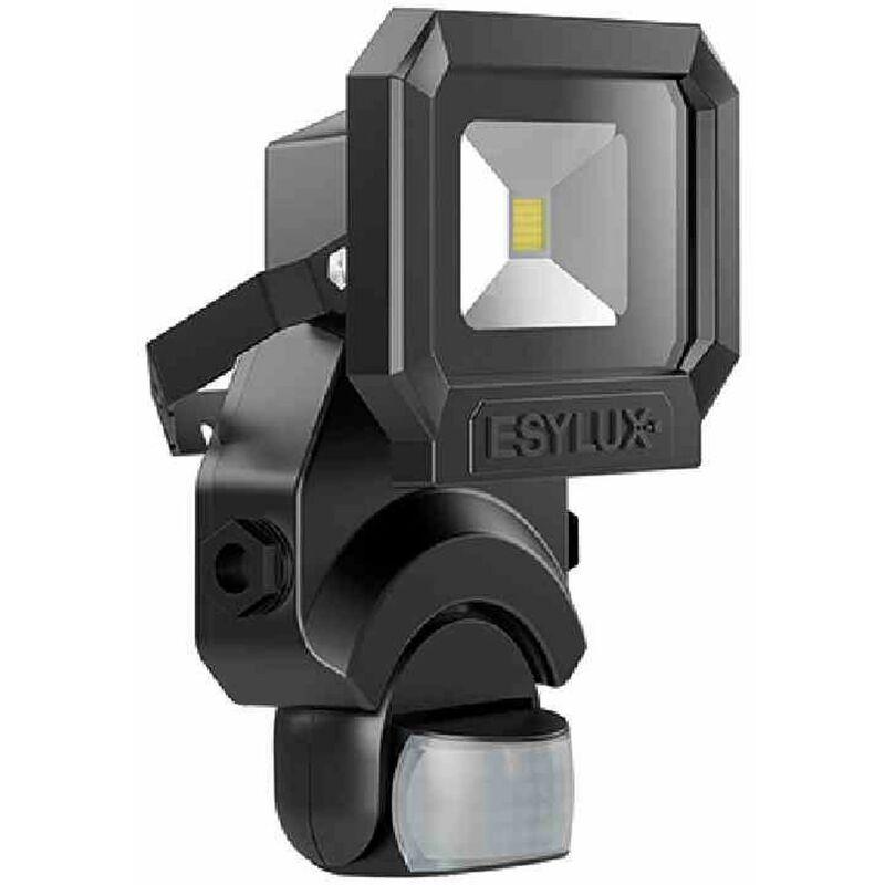 OFL/AFL SUN LED-Strahler 10W 1 LED schwarz + Bewegungsmelder Außenleuchte Licht - ESY-LUX