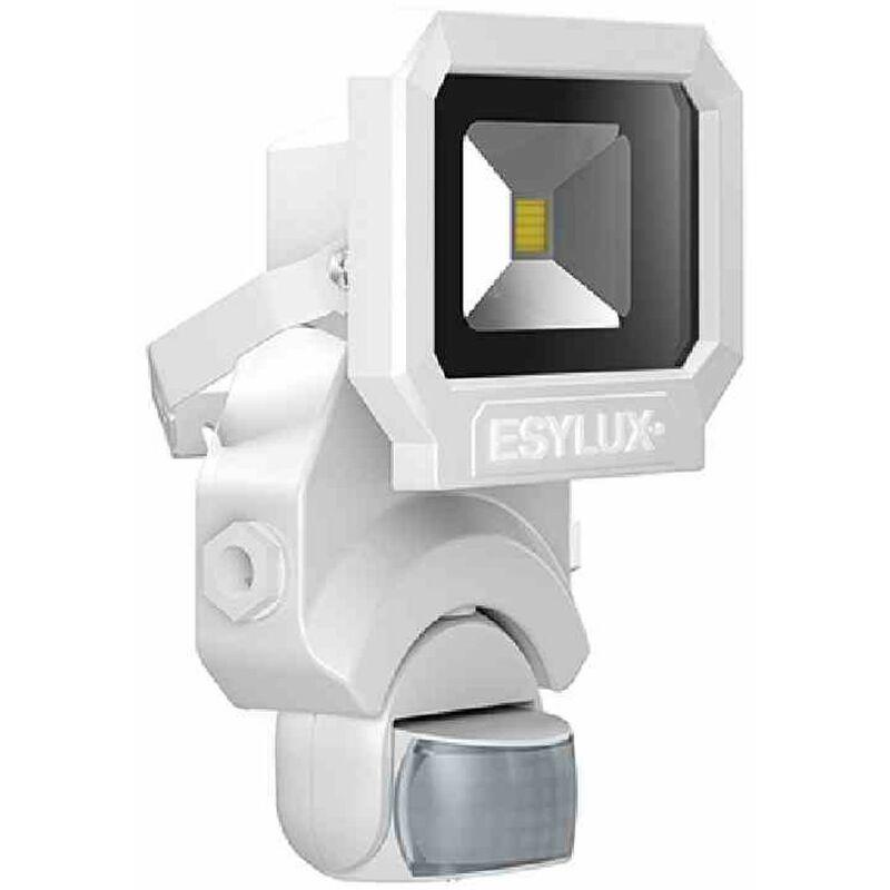 OFL/AFL SUN LED-Strahler 10W 1 LED weiß + Bewegungsmelder Außenleuchte Licht TOP - ESY-LUX